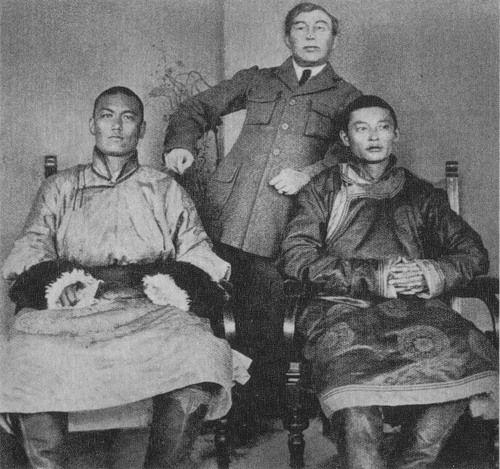 D. Sukhbaatar, Choibalsan H., VA. Huwa. Urga. 1921.