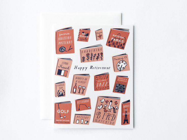 Retirement Books Card