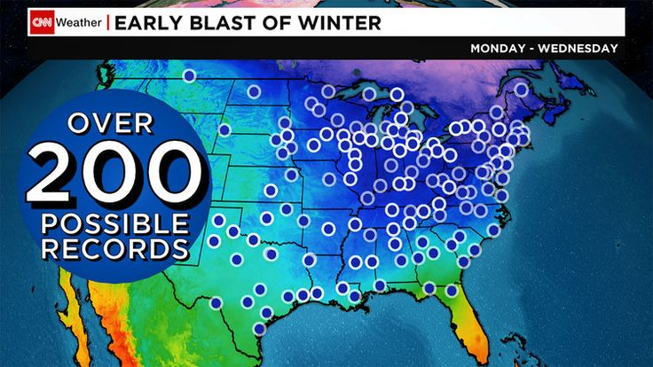 This week's Arctic blast will be so cold, forecasters