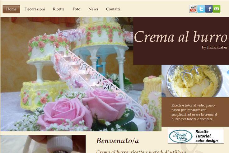 Sito web specializzato sulla crema al burro. Butter cream informations and tutorials.