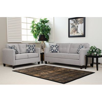 Mercury Row Leda Sofa by Serta Upholstery & Reviews Wayfair FRD Pinterest