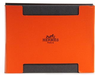 HERMES Leather Post It Notepad 3 Refill