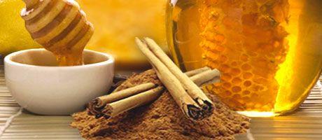 Miód i cynamon różne zastosowania