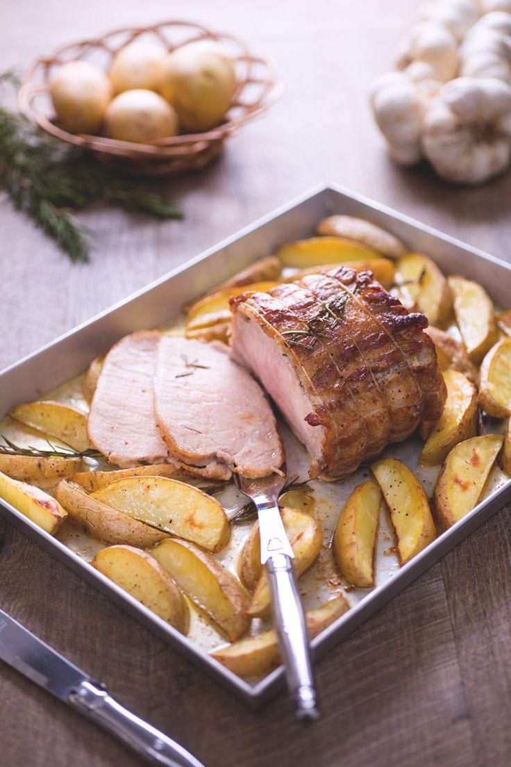 Un succulento secondo piatto che diventerà il vostro asso nella manica nei pranzi in famiglia: #arista di #maiale arrosto. ( #roast #pork ) #Giallozafferano #recipe #ricetta #potato