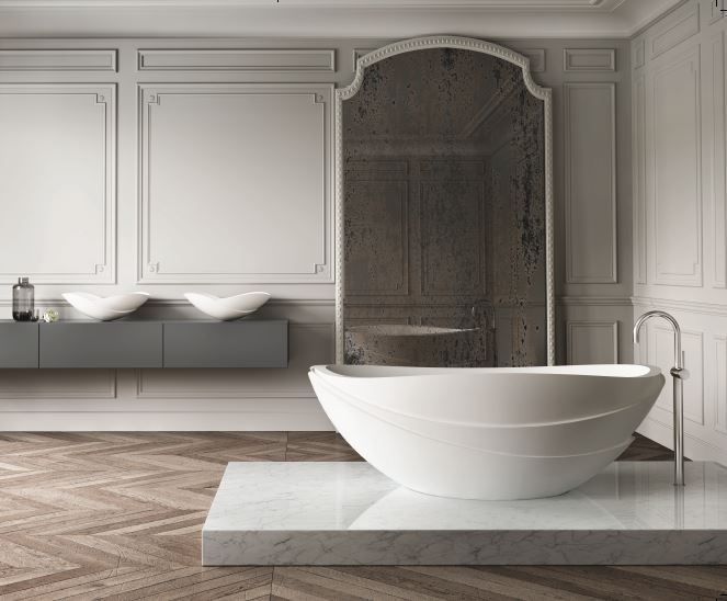 apaiser is thrilled to be collaborating with Kelly Hoppen MBE, in creating a collection for the 21st century. An award winning bathware designer and manufacturer in hand finished stone composite bathware, apaiser has become synonymous with luxury and is renowned for its organic feel and sculptural lines. Inspired by Kelly's signature style of clean lines …
