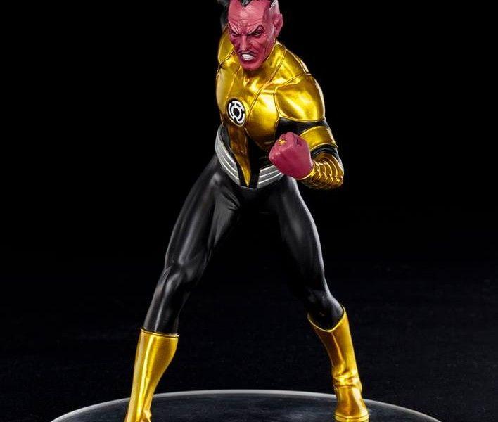 Kotobukiya Reveals New 52 Sinestro Statue