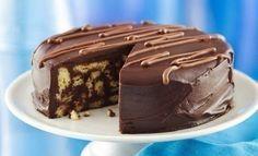 Шоколадный торт из печенья | Школа шеф-повара