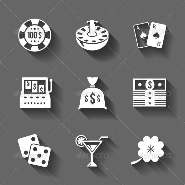Gambling Icons Set Isolated, Contrast Shadows  #GraphicRiver         Gambling icons set isolated, contrast shadows vector illustration. Editable EPS and Render in JPG format                     Created: 10 December 13                    Graphics Files Included:   JPG Image #Vector EPS                   Layered:   No                   Minimum Adobe CS Version:   CS             Tags      app #blackjack #cards #casino #clover #collection #dice #gambling #game #icons #iconset #interface…