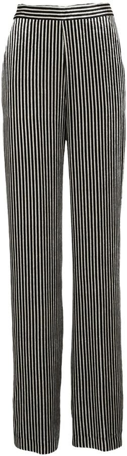 Etro Striped Straight Trousers