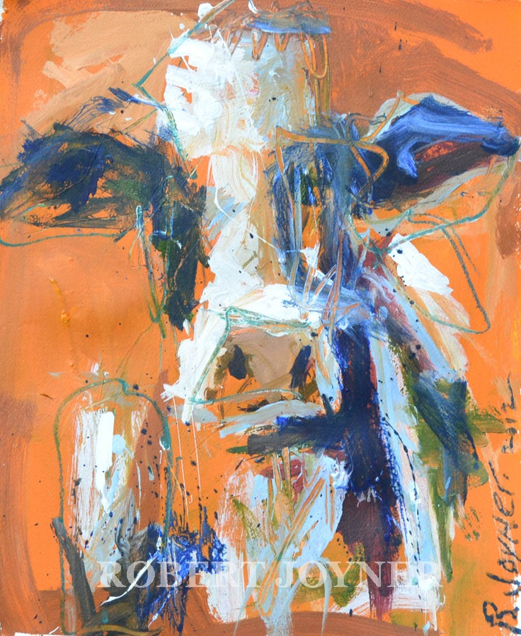 198 best art bovine images on pinterest animal paintings for Abstract animal paintings