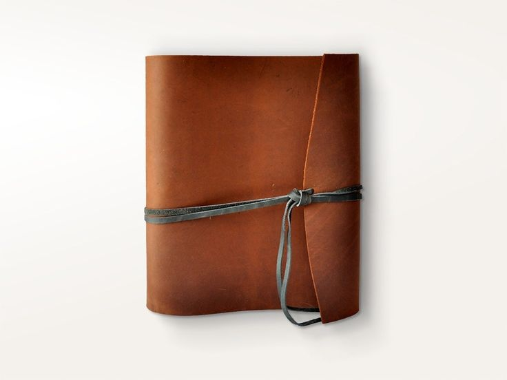 3 Ring Binders - Woodsman Soft Leather 3 Ring Binder - Jenni Bick Bookbinding - 1