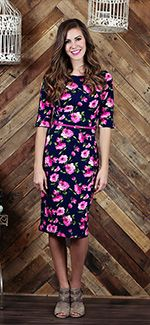 Lainey Dress [MWD9767] - $54.99 : Mikarose Boutique, Reinventing Modesty
