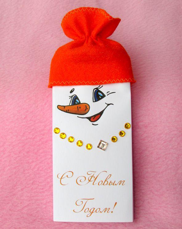Кукуня и Кукуся: Новогодние обёртки для шоколадок