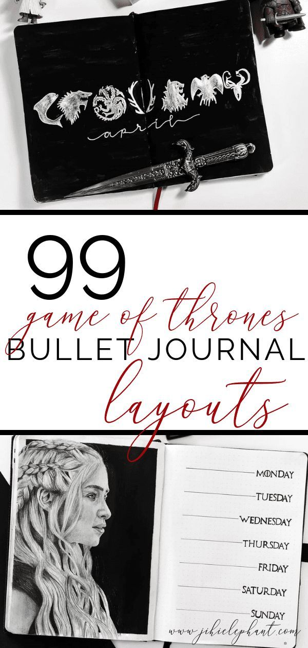 Police D'écriture Game Of Thrones : police, d'écriture, thrones, Impressive, Thrones, Bullet, Journal, Layouts, ElizabethJournals, Layout,, Themes,, Layout