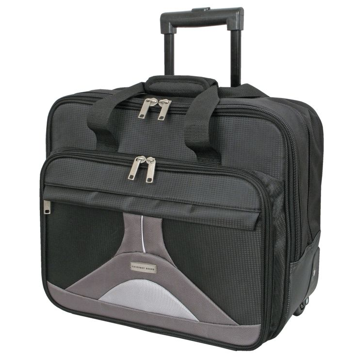 Geoffrey Beene 17-inch Tech Rolling Laptop Case