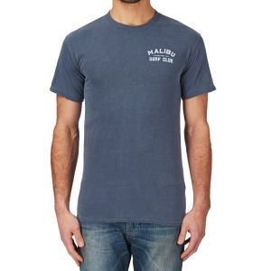 Malibu Shirts Malibu Surf Classic T-shirt - Denim | Free UK Delivery