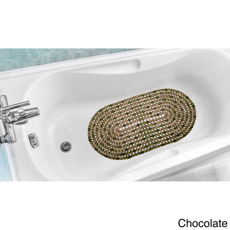 N Crystal Design Slip Resistant Bathtub Mat