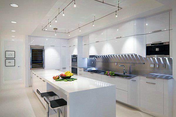 Top 50 Best Kitchen Island Lighting Ideas Interior Light Fixtures Modern Kitchen Design Contemporary Kitchen Modern Kitchen Lighting