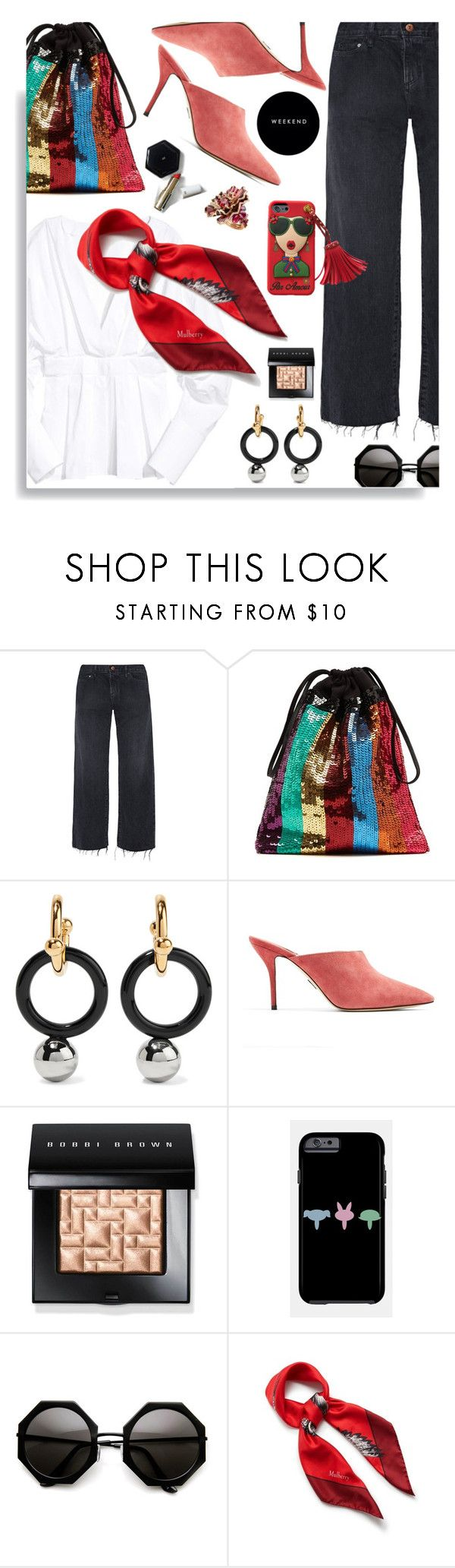 """Weekend"" by hamaly ❤ liked on Polyvore featuring Simon Miller, Attico, Marni, Paul Andrew, Bobbi Brown Cosmetics, Passionata, Mulberry, H&M, outfit and denim"