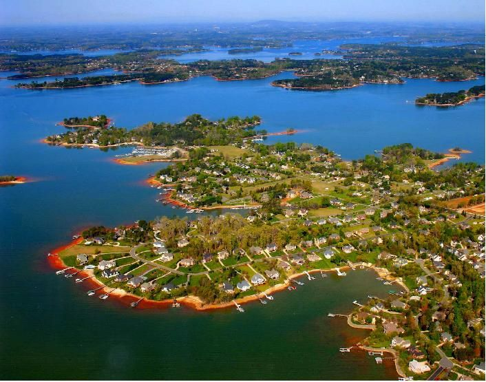 Lake Norman, NC - July 2004 - Explore the World with Travel Nerd Nici, one Country at a Time. http://TravelNerdNici.com