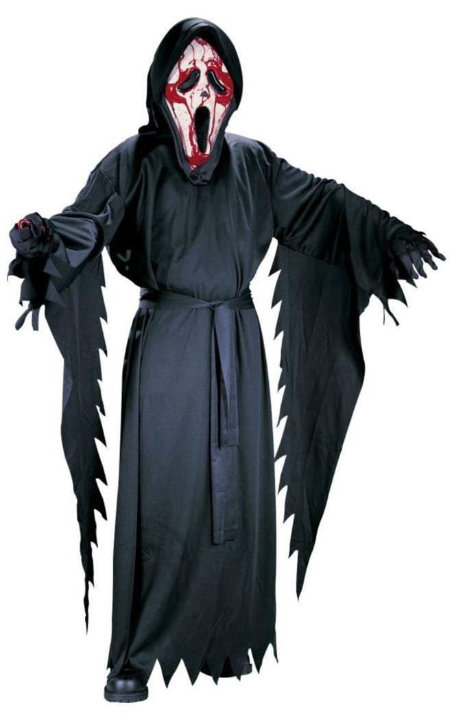 Scream Bleeding Ghost Face Child Costume Partybell Com Ghost Halloween Costume Halloween Costumes For Kids Boy Halloween Costumes