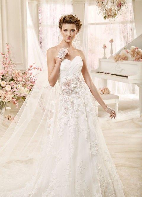 SV34 Svadobné šaty Nicole Svadobný salón Valery