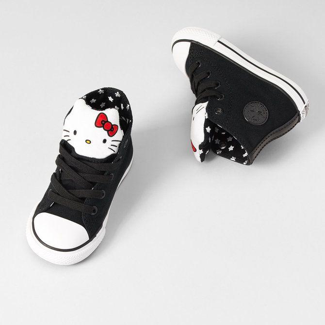 hello kitty infant converse