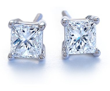 1 carat diamond earrings... I can dream, right!  It's a wish list!