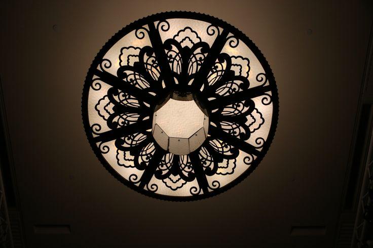 mural hall chandelier