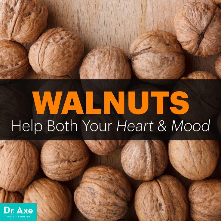 Walnuts benefits - Dr. Axe http://www.draxe.com #health #holistic #natural