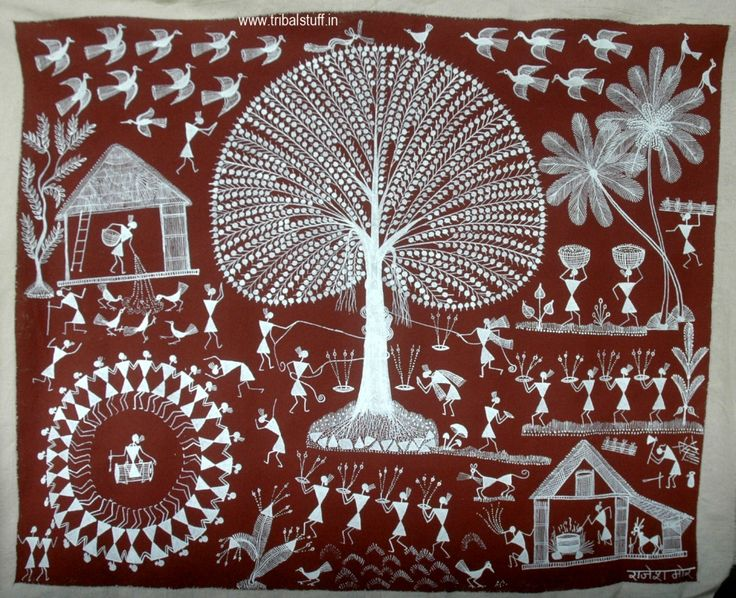 20 best images about warli painting on the wall on