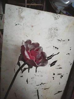 Růže - žhavá
