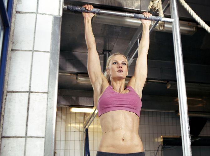 Sieben Übungen für einen schönen Rücken   Hochziehen