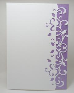 Swirly Edged Card, Scan N Cut, .fcm