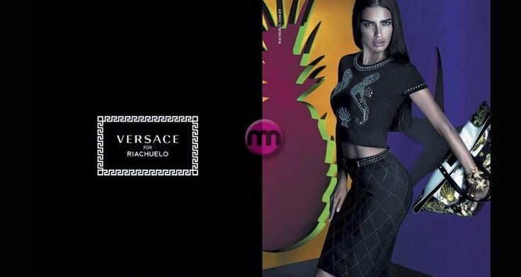 Adriana Lima for Versace & Riachuelo campaign => http://www.giyimvemoda.com/adriana-lima-versace-riachuelo-reklam-kampanyasinda.html