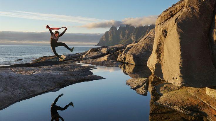 Senja er minst like fin som Lofoten og Vesterålen. Men det har heldigvis ikke så mange oppdaget.