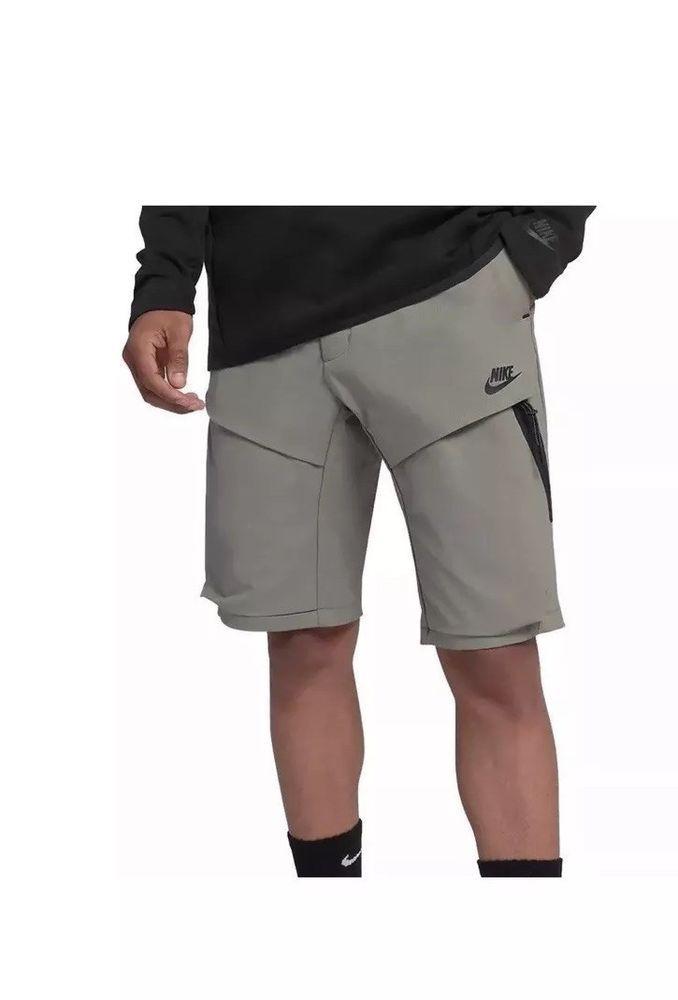 edad9566331e Men s Nike Sportswear Tech Pack Woven Shorts Dark Stucco Size 38 928617 004  NWT  Nike  ActivewearShorts