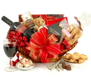Ruby Red Wine Hamper for your special Valentine