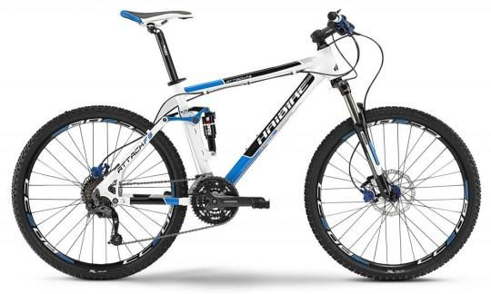 Bicicleta MTB Full Suspension Haibike Attack FS 26 - 2013