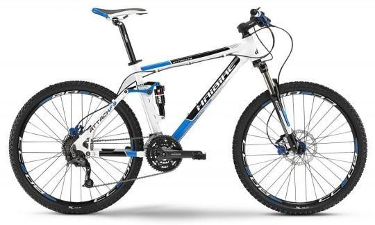 Bicicleta MTB Full Suspension Haibike Attack FS 26 - 2013