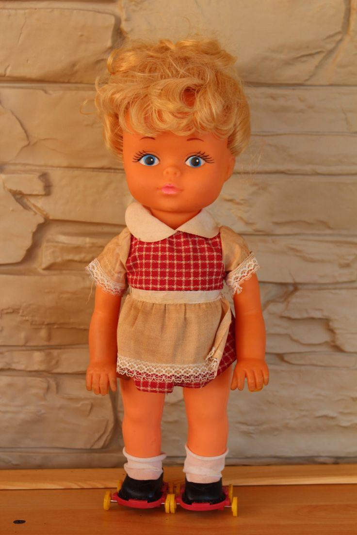 Vintage Nasta Industries Cutie Cleaner Doll in Original box, Blonde Hair Doll…
