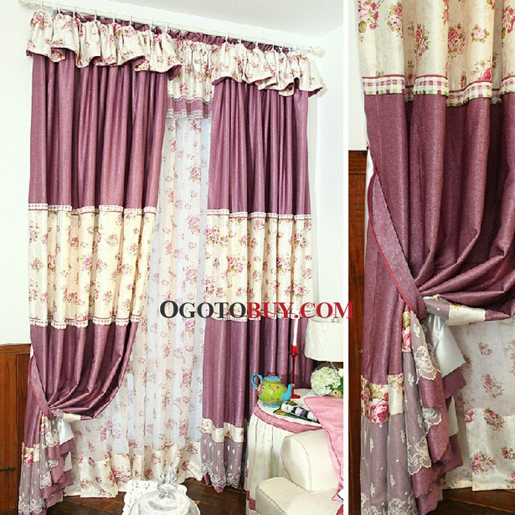 Unique Window Treatments Shabby Chic