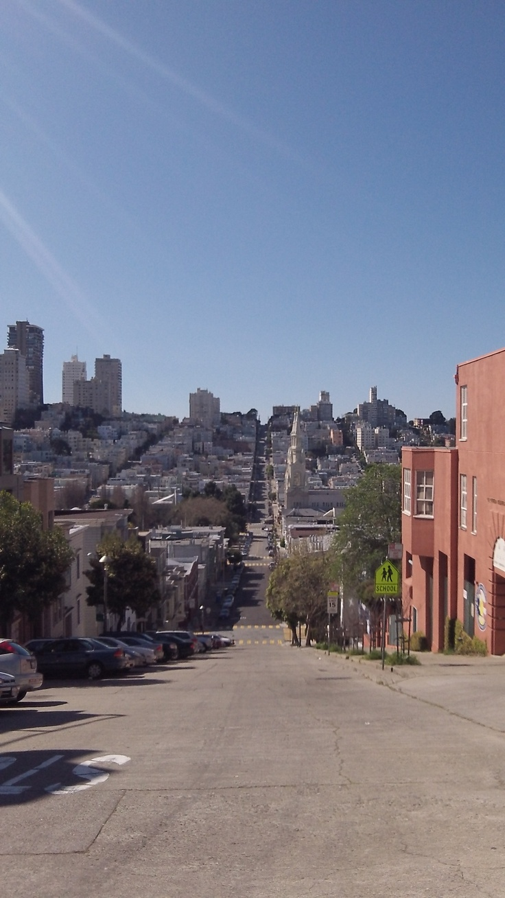 The streets of San Fran
