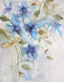 watercolors 30x40 cm