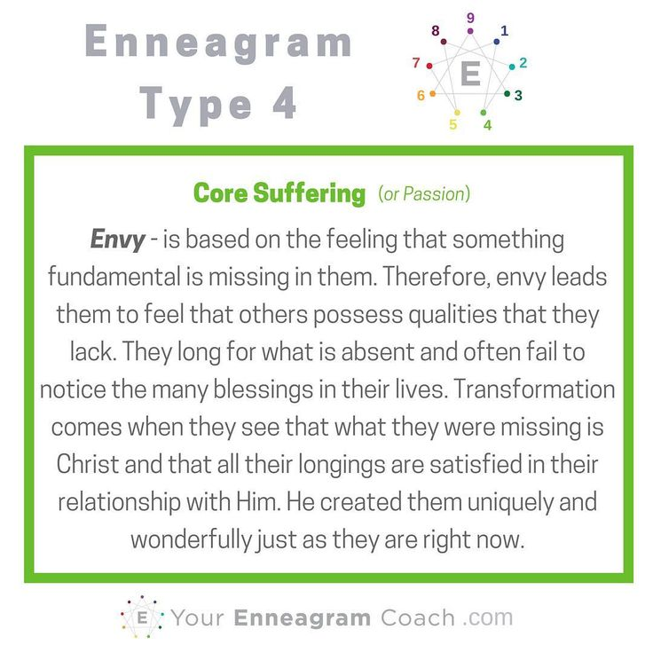 enneagram type 4 and 7 relationship principles