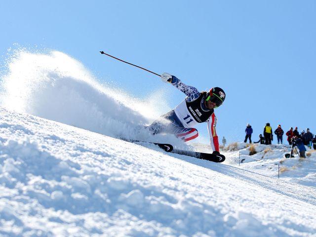 Winter skiing descent #Sochi2014 #Olimpics #competition