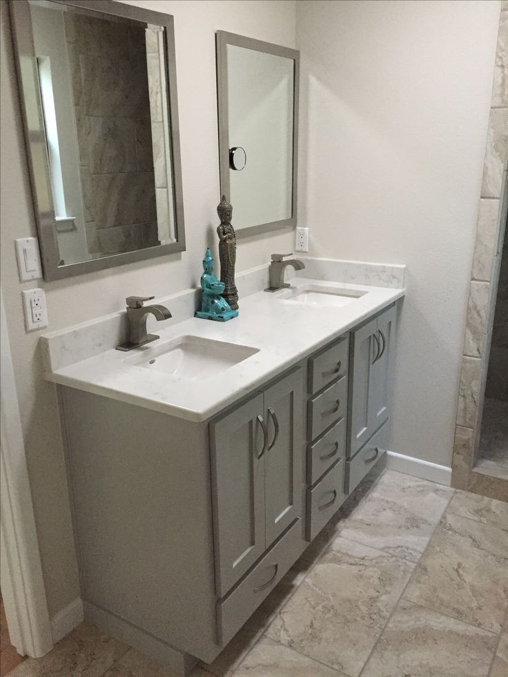 Our New Vanity Benjamin Moore Ozark Shadows Bath