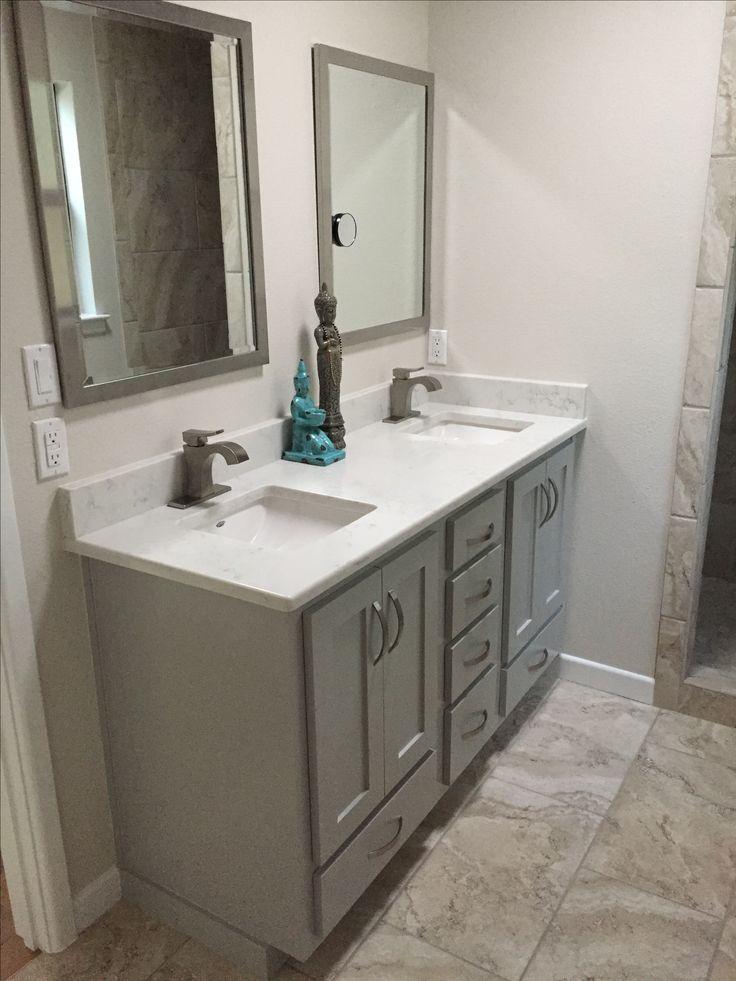 Our New Vanity Benjamin Moore Ozark Shadows Bath