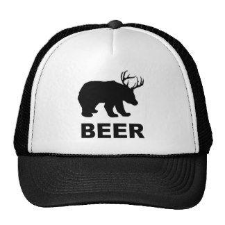 Bear Deer Beer?  T-shirt Hat