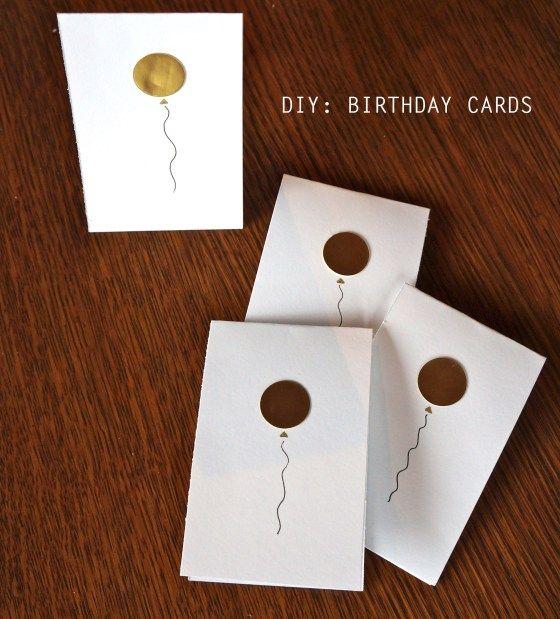 DIY Birthday Cards